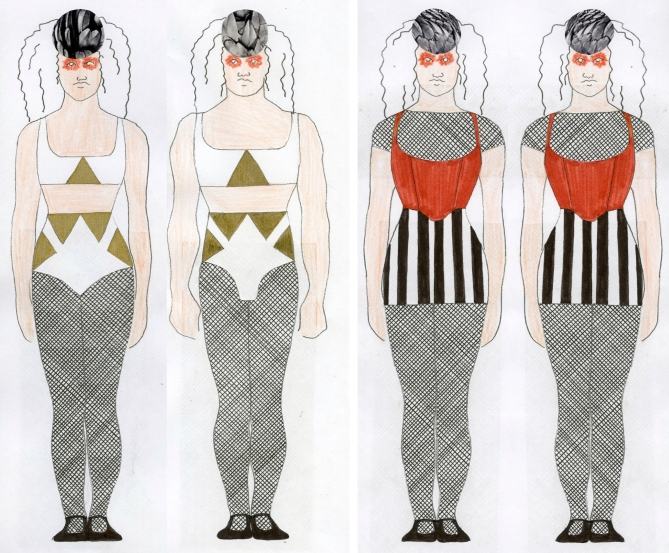 circus birds designs by phoebe roberts